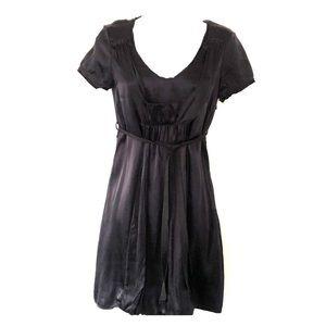 Noa Noa EUC sz XS Silk Dress Dark Blue Black